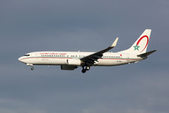 RAM Royal Air Maroc Boeing 737-800 flygplan Arkivbilder