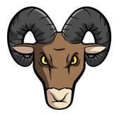 Ram Sheep Mascot Fotografia Stock Libera da Diritti