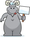 Ram Sign Stock Image