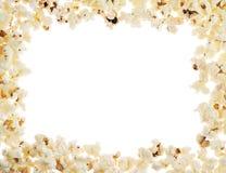 Ram som göras av popcorn arkivbilder