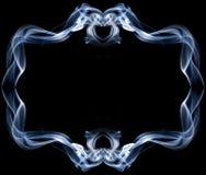 Ram som göras av rök Royaltyfria Bilder