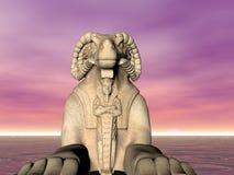 Ram Sphinx Stock Photo