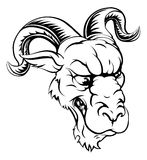 Ram sports mascot Royalty Free Stock Image