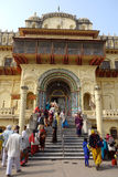Ram Temple a Ayodhya Fotografia Stock