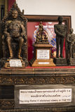 Rama国王小雕象 库存照片