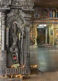 Rama柱子与内在密室入口的在背景中 免版税库存照片