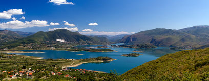 Rama湖(Ramsko Jezero)在波黑 免版税图库摄影