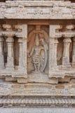 Rama雕塑与弓箭,印度的 库存照片