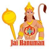Rama, Laxmana, Sita阁下和Hanuman 免版税库存图片