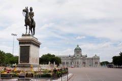 Rama 5 βασιλιάδων μνημείο Στοκ εικόνες με δικαίωμα ελεύθερης χρήσης