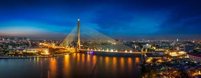 rama 8 мостов Стоковые Фото