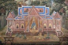 Rama разговаривая с Hanuman Стоковое Изображение RF