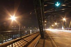 Rama 1座桥梁在曼谷,泰国 库存照片