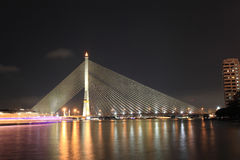 Rama 8 Bridge - Bangkok Stock Photography