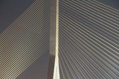 Rama 8 suspension bridge Royalty Free Stock Photos