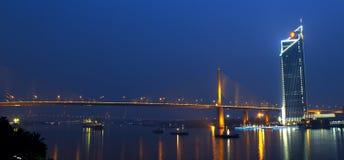 Rama 9 Bridge Stock Photo