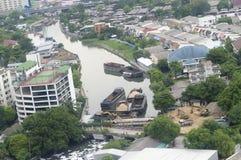 Rama 4 in Bangkok city Stock Photos