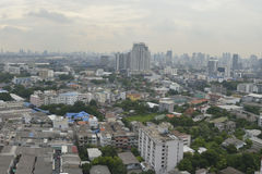 Rama 4 in Bangkok city Stock Photo