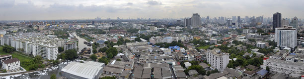 Rama 4 in Bangkok city Stock Images