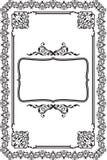 rama barok ilustracja wektor