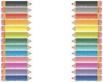rama barwiony ołówek Zdjęcia Royalty Free