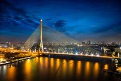 Rama 8 Brücke Stockfotos