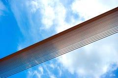 Rama8 Brücke, Chaopaya-Fluss, Bangkok, Thailand Lizenzfreies Stockbild