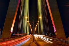 Rama 8 Bridżowy Bangkok Obraz Royalty Free