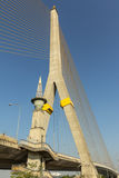 Bridge. Rama8 bridge with blue sky,thailand Stock Photo