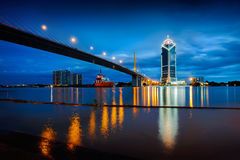 Rama 9 bridge Stock Images