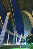 Rama 9 Bridge in the evening Stock Images