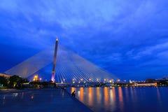 Rama8 bridge Stock Image