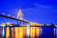 Rama 9 Bridge Stock Images