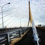 Rama8 bridge Royalty Free Stock Image