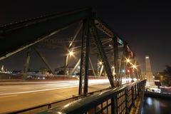 Rama 1 bro i Bangkok, Thailand Royaltyfri Bild