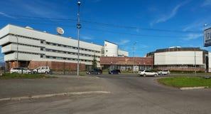 Rama de la Federación Rusa del banco central del territorio de Kamchatka imagenes de archivo