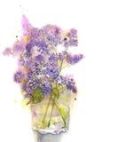 Rama de la lila Imagen de archivo