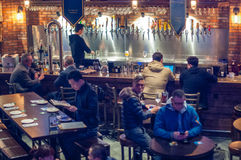 Rama de Shangai del mundo de la cerveza Imagen de archivo