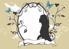 rama dekoracyjna royalty ilustracja
