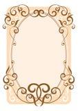rama dekoracyjna Fotografia Stock