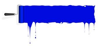 Rama dla, ślad farba na ścianie i miejsce tekst royalty ilustracja