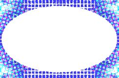 Rama dla umieszczać tekst lub zawiadomienia ilustracji