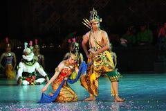 Rama e Sita imagens de stock