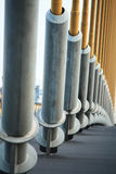 Rama eight stay cable. River bridge in thailand Royalty Free Stock Image