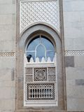 Rama i okno budynek Dubaj zdjęcia stock