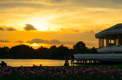 Rama IX公园 免版税库存图片