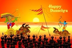 Free Rama Killing Ravana In Dussehra Stock Images - 33879294