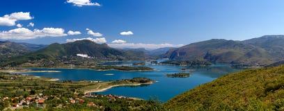 Rama Lake (Ramsko Jezero) in Bosnia-Erzegovina Fotografia Stock Libera da Diritti
