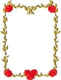 rama liście Zdjęcia Royalty Free