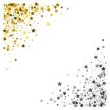 Rama lub granica gwiazdy ilustracja wektor